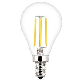 Feit Electric 40-Watt LED Decorative Candelabra Base Fan Bulbs (Set of 2)