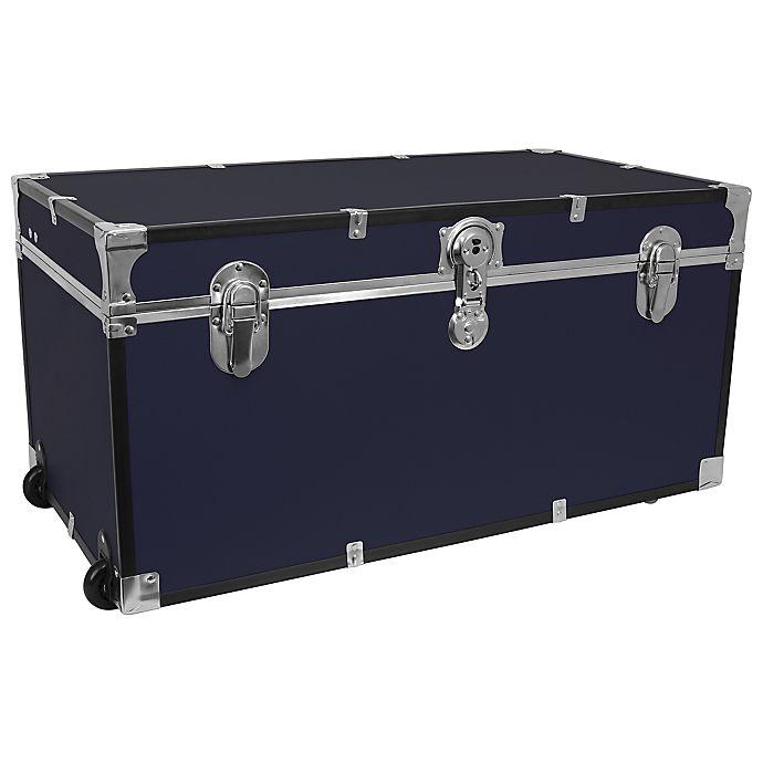 Alternate image 1 for Mercury Luggage/Seward 31-Inch Oversized Storage Trunk in Navy