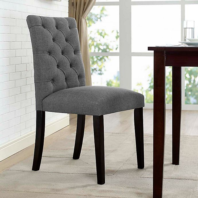 Modway Duchess Upholstered Dining Side Chair Bed Bath