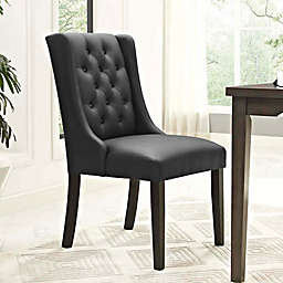 Modway Baronet Vinyl Dining Side Chair