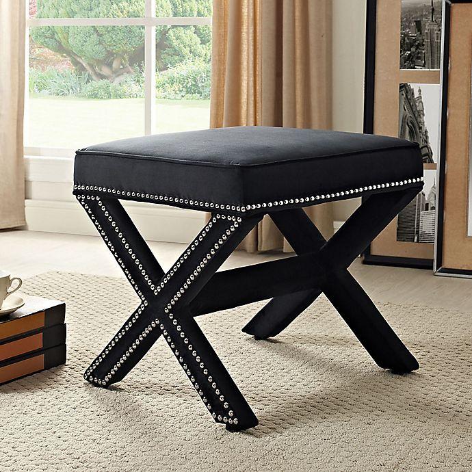 Fabulous Modway Rivet Bench Bed Bath Beyond Creativecarmelina Interior Chair Design Creativecarmelinacom