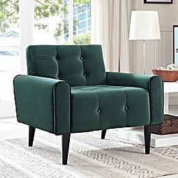 Modway Delve Velvet Armchair