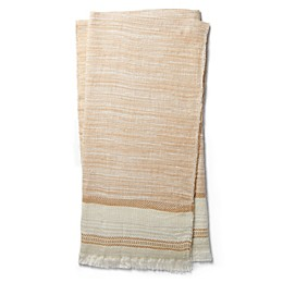 Magnolia Home by Joanna Gaines Alissa Throw Blanket in Camel/Ivory