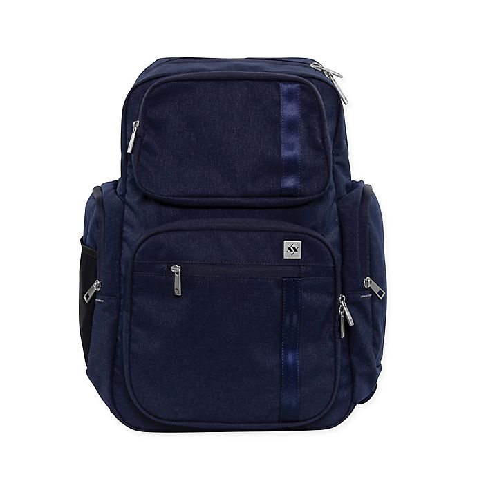 Alternate image 1 for XY by Ju-Ju-Be® Vector Diaper Bag in Navy