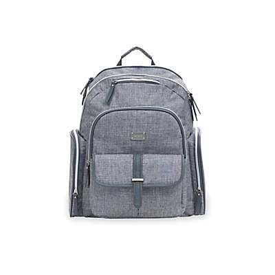 carter's® Cross Hatch Sport Backpack Diaper Bag in Grey