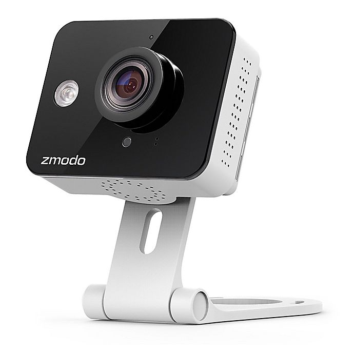 Alternate image 1 for Zmodo ZM-SH75D001-W HD Mini WiFi Camera with 2-Way Audio