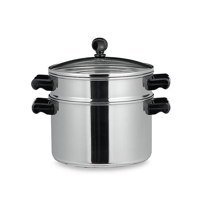 Alternate image 1 for Farberware® Classic Series™ Stack & Steam 3-Quart Sauce Pot with Steamer Insert