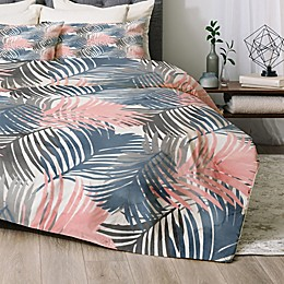 Deny Designs Pattern Jungle 2-Piece Twin/Twin XL Comforter Set in Blue