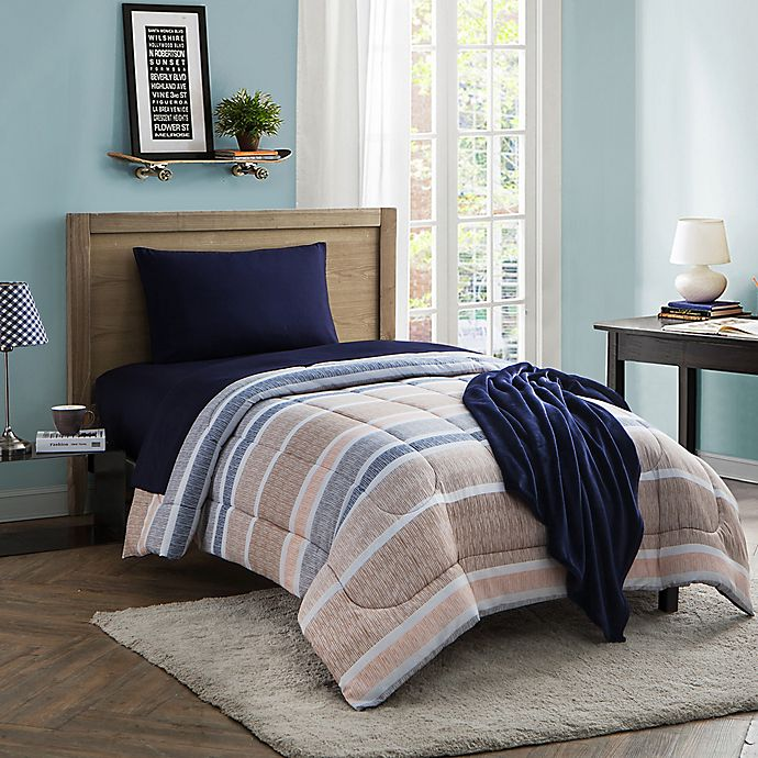 Cabana 16 Piece Twin Twin Xl Comforter Set Bed Bath And Beyond Canada
