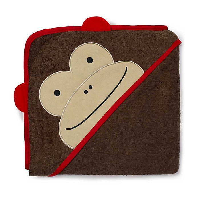 Alternate image 1 for SKIP*HOP® Zoo Monkey Hooded Towel