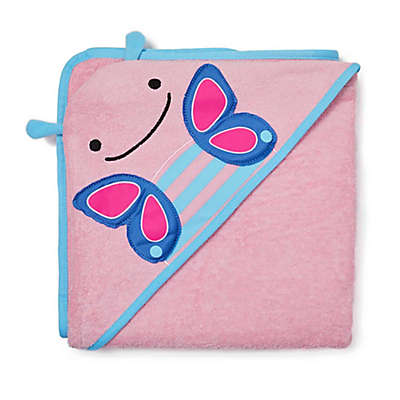 SKIP*HOP® Zoo Butterfly Hooded Towel
