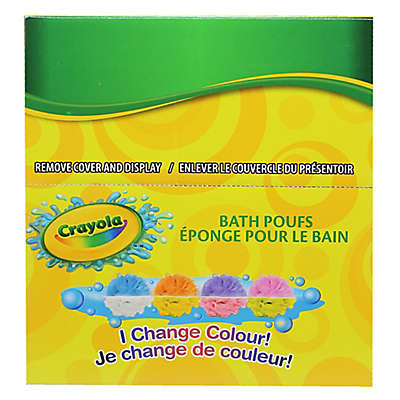 Crayola® Color-Changing Bath Pouf