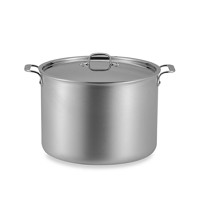All Clad Master Chef Ii Stainless Steel 20 Quart Covered Stock Pot