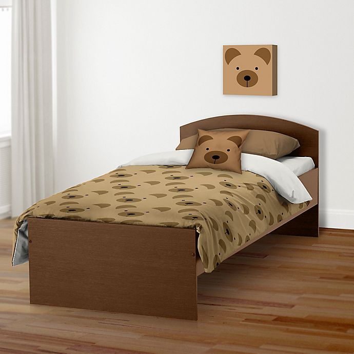 Alternate image 1 for Designs Direct Bear Face Friend Bedding Collection
