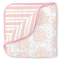Swaddle Designs® Heavenly Floral Muslin Luxe Blanket in Pink