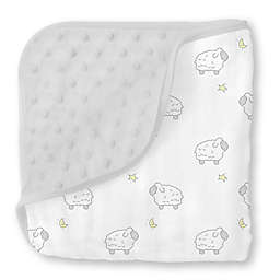 Swaddle Designs® Little Lambs Snuggle Blanket in Grey