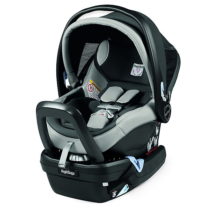 Infant Car Seat In Leather Ice View A Larger Version Of This Product Image