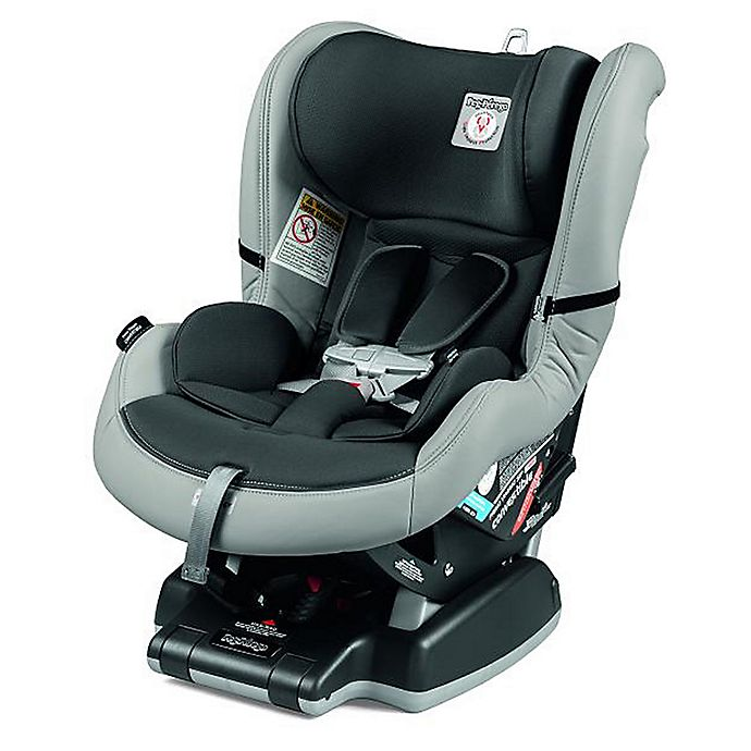 Alternate image 1 for Peg Perego Primo Viaggio SIP 5-65 Convertible Car Seat in Leather Ice