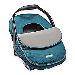 JJ Cole® Car Seat Cover in Teal Fractal