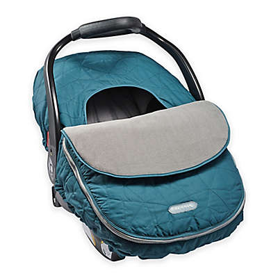 JJ Cole® Car Seat Cover in Teal Fractal