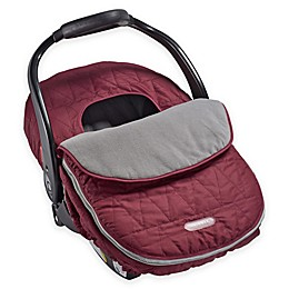 JJ Cole® Car Seat Cover in Wine Tri-Stitch