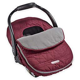 JJ Cole® Car Seat Cover in Wine Tri-Stitch