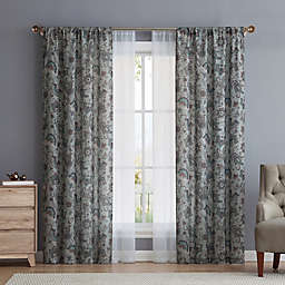 VCNY Avon 4-Piece Rod Pocket Window Curtain Panel Set