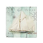 Thirstystone® Occasions Antique La Mer  Square Coaster