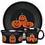 Part of the Fiesta® Halloween Trio of Happy Pumpkins Dinnerware Collection