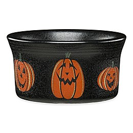 Fiesta® Halloween Trio of Happy Pumpkins Ramekin in Black