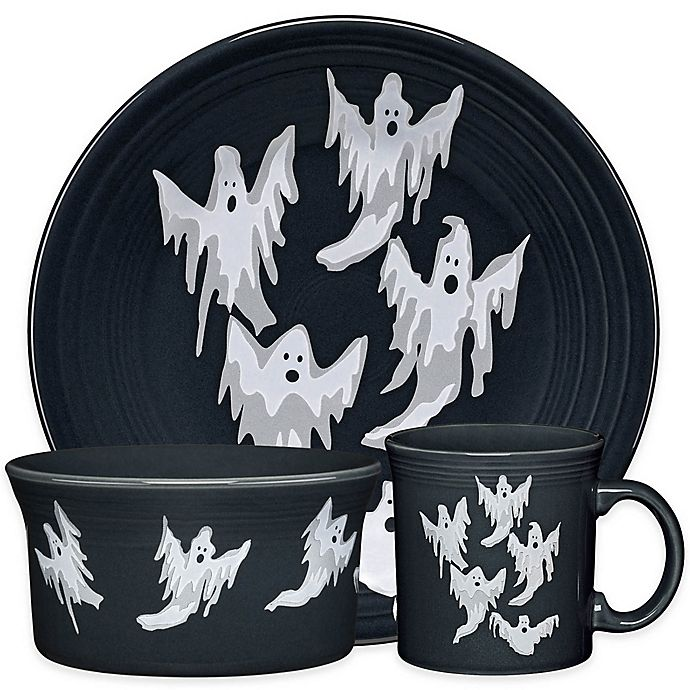 Alternate image 1 for Fiesta® Halloween Ghosts Dinnerware Collection