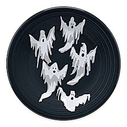 Fiesta® Halloween Ghosts Luncheon Plate in Black