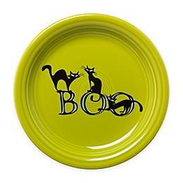 Fiesta® Halloween Trio of Boo Cats Appetizer Plate in Green