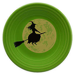 Fiesta® Halloween Harvest Moon Witch Luncheon Plate in Green