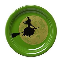 Fiesta® Halloween Harvest Moon Witch Appetizer Plate in Green