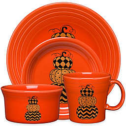 Fiesta® Halloween Geo Pumpkins Dinnerware Collection