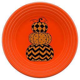 Fiesta® Halloween Geo Pumpkins Luncheon Plate in Orange