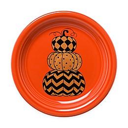 Fiesta® Halloween Geo Pumpkins Appetizer Plate in Orange