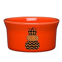 Fiesta® Halloween Geo Pumpkins Ramekin in Orange