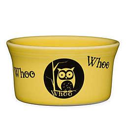 Fiesta® Halloween Whoo Owl Ramekin in Yellow
