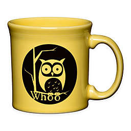 Fiesta® Halloween Whoo Owl Java Mug in Yellow
