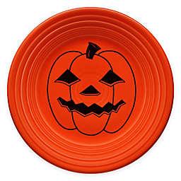 Fiesta® Halloween Spooky Pumpkin Luncheon Plate in Orange