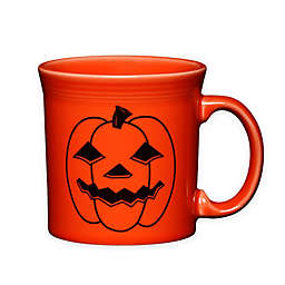 Fiesta® Halloween Spooky Pumpkin Java Mug in Orange