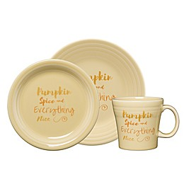 Fiesta® Halloween Pumpkin Spice Dinnerware Collection