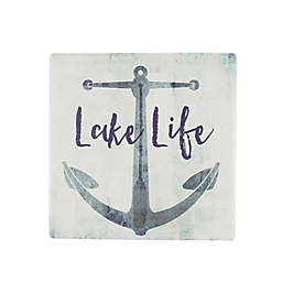 Thirstystone® Occasions Lake Life Anchor Square Coaster