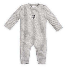 Elegant Baby® Cable Knit Coverall in Grey