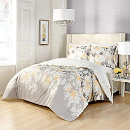 Marble Hill Garden Party Reversible 3-Piece Comforter Set