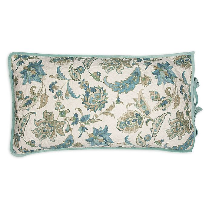 Bed Bath And Beyond Beaumont: Beaumont Standard Pillow Sham In Blue