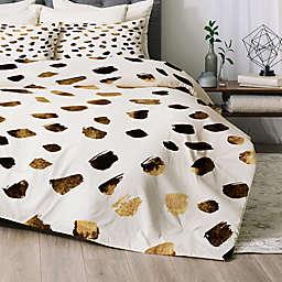 Deny Designs Gold V03 Comforter Set