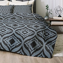 Deny Designs Trevino Dusk 2-Piece Twin/Twin XL Comforter Set in Blue